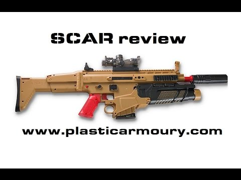 SCAR gel ball shooter review