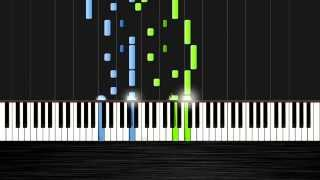 Michael Nyman - The Heart Asks Pleasure First - Piano Tutorial by PlutaX - Synthesia