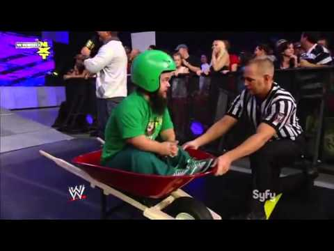 WWE NXT 9/28/10 Wheel Barrel Challenge