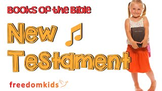 Kids Worship Songs - Books of the Bible Song  (NT) |  Freedom Kids