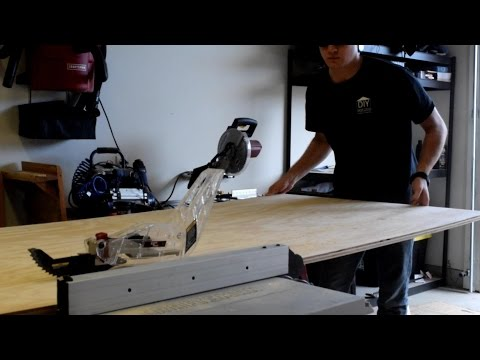 Craftsman 21807 table saw with laser guide initial video review on DIY with Chris