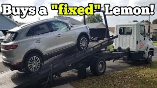 I Saved Over $20,000 Buying a Like New Lemon Car! Then it Broke Down TWICE in 48 Hours!!!