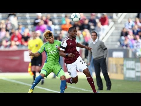 HIGHLIGHTS: Colorado Rapids vs Seattle Sounders FC | April 20, 2013