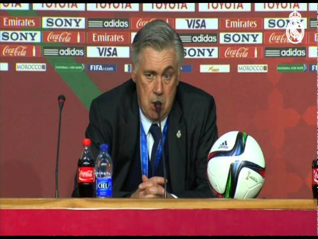 """Ancelotti: """"2014 has been a fantastic, unforgettable year"""""""