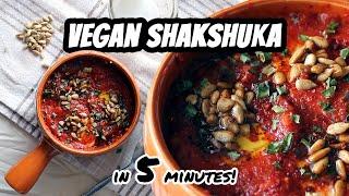 Vegan Shakshuka For One (5 minute recipe!) | Mary's Test Kitchen