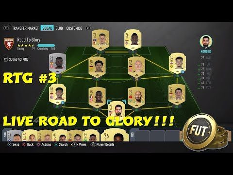 *LIVE* FIFA 20 Road To Glory #3 - SBCs, Div Rivals, Squad Battles & More!!!