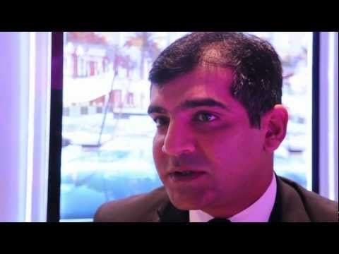 Salik Mangrio Dir of Sales & Marketing, Park Hyatt, Abu Dhabi @ WTM 2012