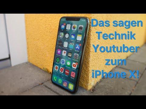 Das sagen Technik Youtuber zum iPhone X!