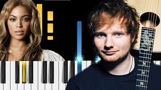 """Ed Sheeran - Perfect (Duet with Beyoncé) - Piano Tutorial / Piano Cover - How to play """"Perfect"""""""