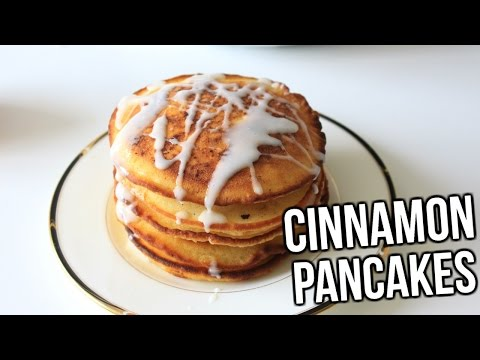 Cinnamon Pancakes recipe