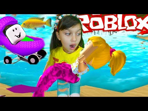 ROBLOX Adopt Me Мультик игра УДОЧЕРИЛИ в РОБЛОКС  побег симулятор мульт приключения видео для детей