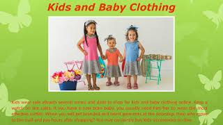 Shop Kids Clothing Online in the Latest Trends