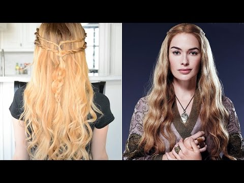 Cersei Lannister Inspired Hairstyle   Game Of Thrones Hair Tutorial