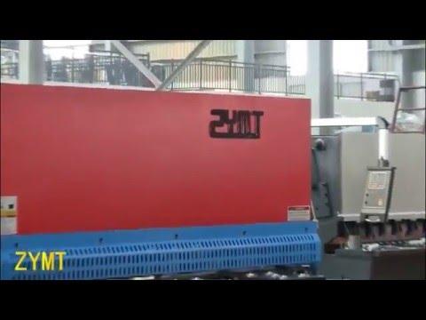 ZYMT brand 6x4000mm swing beam shearing machine