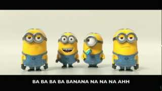 Despicable Me 2 Trailer - Banana Potato Song w/ Lyrics