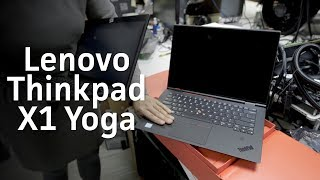 Lenovo Thinkpad X1 Yoga unboxing and comparison to X1 Carbon