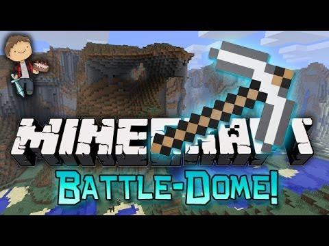 Minecraft: BATTLE-DOME w/Mitch & Friends Part 1 - Build Phase!