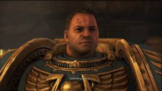 Planet Fall(1) and Against All Odds(2) Cutscenes - Space Marine