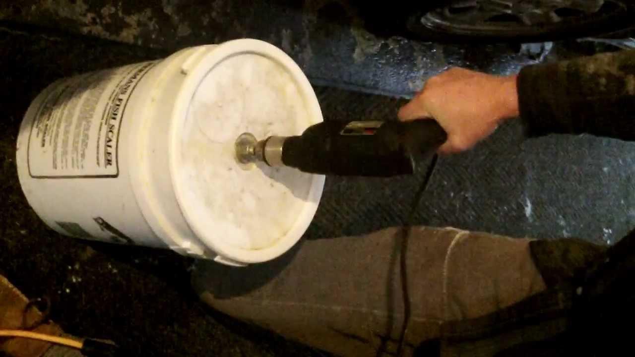 Herman 39 S Fish Scaler 5 Gallon Bucket Youtube