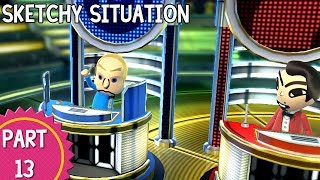 Wii Party U: Episode 13 - Sketchy Situation
