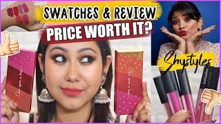 Testing Shystyle's NEW Liquid Lipsticks | The Makeup Story REVIEW & SWATCHES | Worth it??