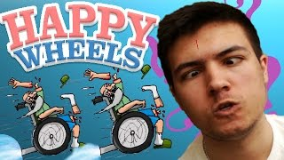 Happy Wheels - BEST LEVELS EVER! - Happy Wheels Funny Moments #1