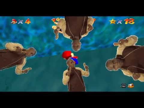 Mario drowns