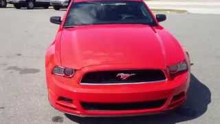 ► NEW 2014 Ford Mustang Race Red