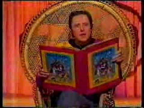 Walken doing a Jackanory spoof on Jonathan Ross.