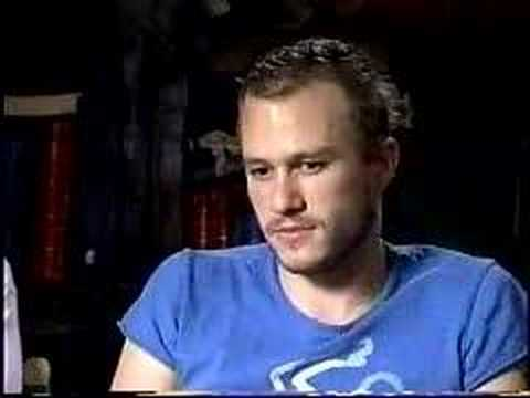 Heath Ledger Interview
