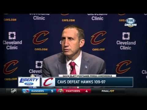 Cleveland Cavaliers head coach David Blatt on how the Cavs have responded to playing tougher