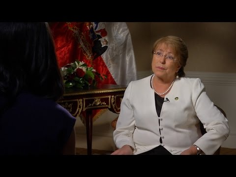 A conversation with the President of Chile: Michelle Bachelet