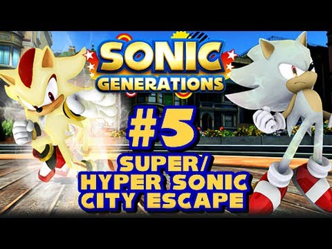 Super/Hyper Sonic Generations - (1080p) City Escape