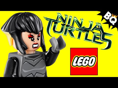 LEGO Ninja Turtles Karai TMNT Minifigure Comparison