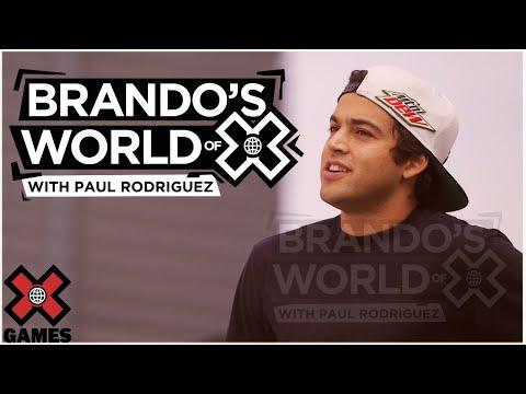 PAUL RODRIGUEZ: Brando's World of X | X Games