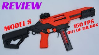 [REVIEW] CEDA Model S (A 150 FPS Stock NERF BLASTER!!!) from Jet Blaster
