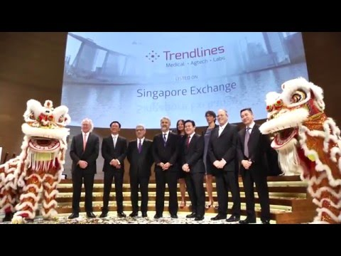 Trendlines Completes Successful IPO on the Singapore Stock Exchange