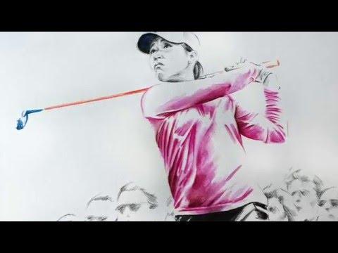 Olivera GolfArt - Lydia Ko - Time Lapse