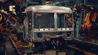 The last Scania PGR truck produced in Europe
