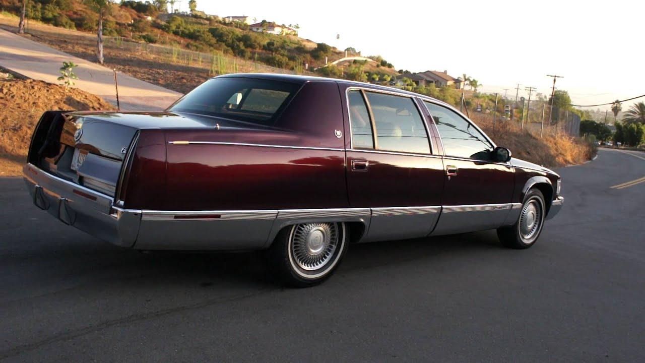 Cadillac Fleetwood Brougham 95 Bubble 5.7 350 - YouTube