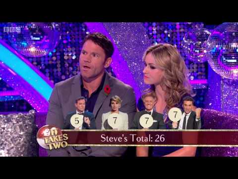 Ola and Steve appeared on It Takes Two to talk about their week 6 Charleston and their preparations for their week 7 Paso Doble.