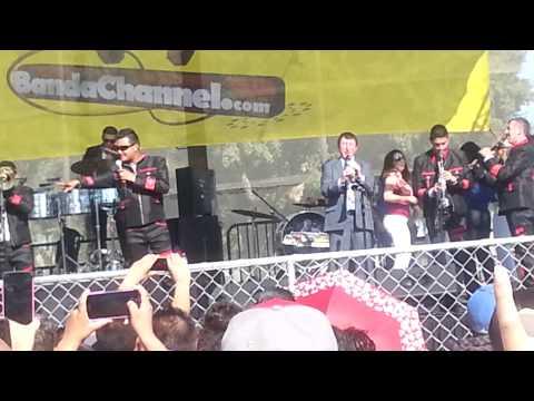 Banda Estrella Blanca de Germán Lizarraga en el parque de South Gate 8/31/14