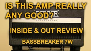 Inside & Out Review Fender Bassbreaker 007 Class A Amplifier -  tonymckenziecom
