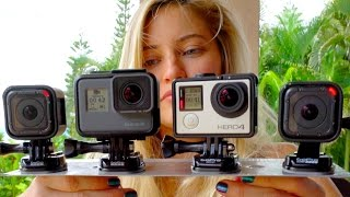 Which one is better? GoPro Comparison!