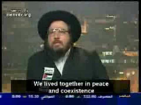 Muslim Pretending to be an Orthodox Jew on Arab TV