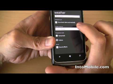 AT&T HTC Surround WP7 phone - Windows Phone 7 software walkthrough