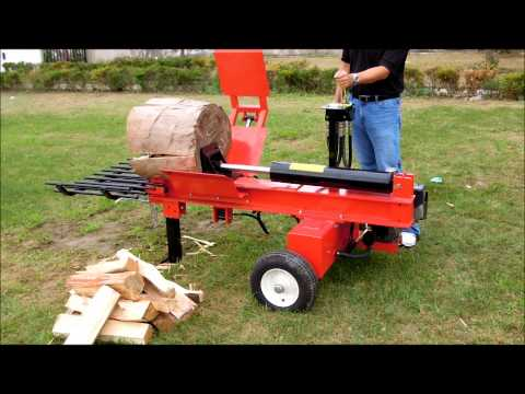 2011-2012 Woodpecker 24 ton Log Splitter with 4Way Wedge and Log Lift