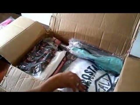 Fornecedor de roupas dos EUA – Encomenda do nosso aluno com 40 camisas Aero Postale