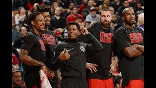 The Toronto Raptors Best Plays of the Season