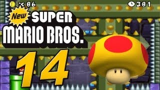 New Super Mario Bros. DS - Let's Play New Super Mario Bros. Part 14: Mini Mario vs. Mutant Tyranha